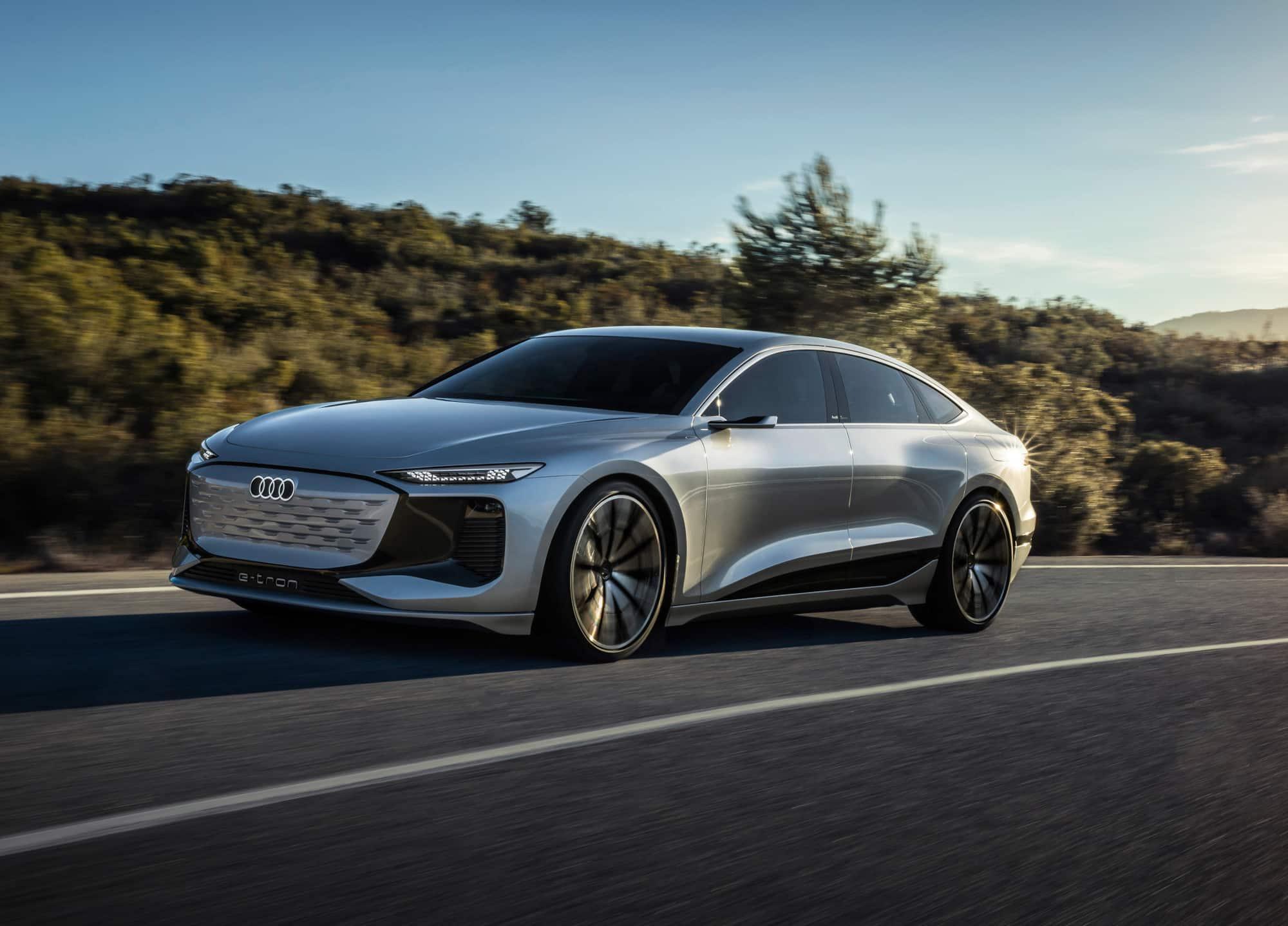 Audi A6 e-tron concept, la evolución eléctrica