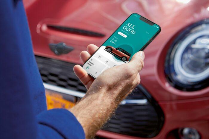 apps celular automóvil conectividad