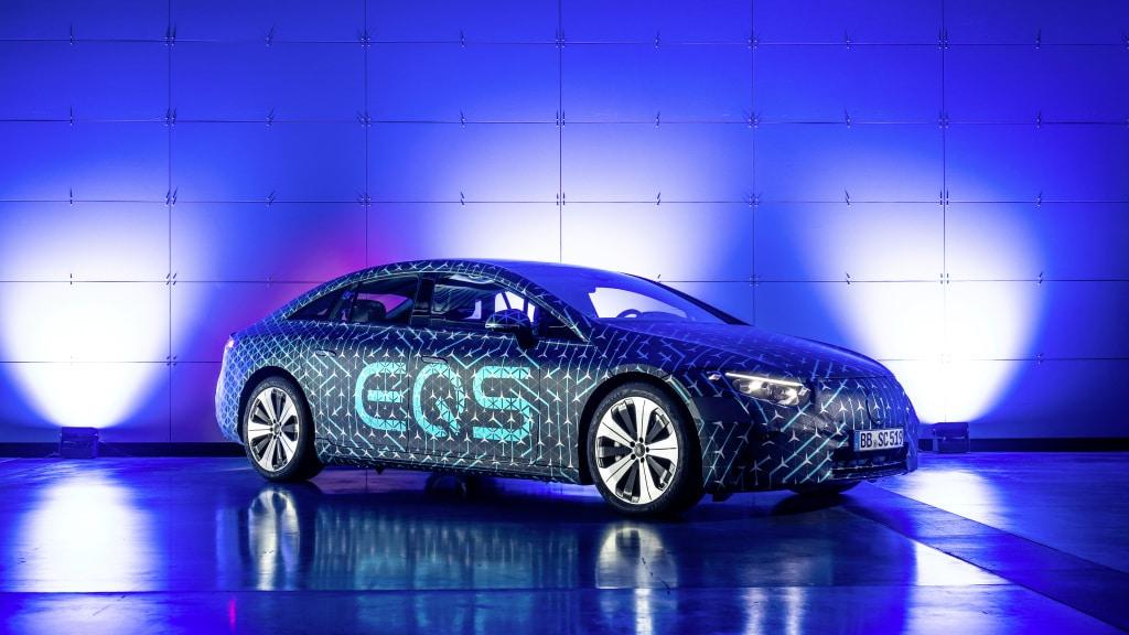 El nuevo EQS tendrá autonomía de 770 kilómetros