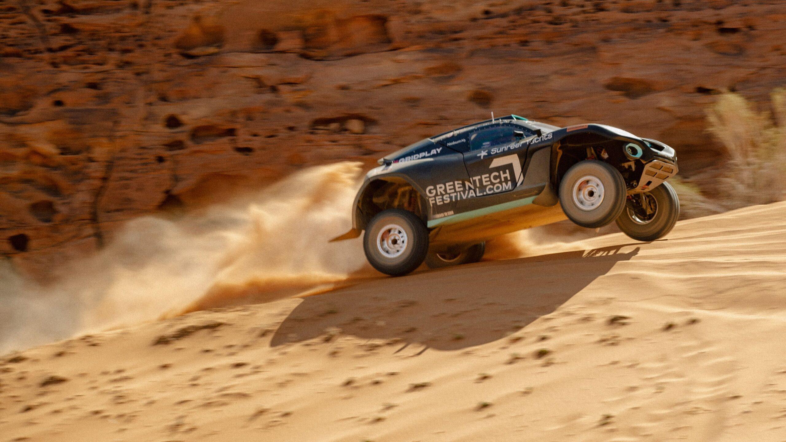 Rosberg X gana el Desert X Prix de Extreme E