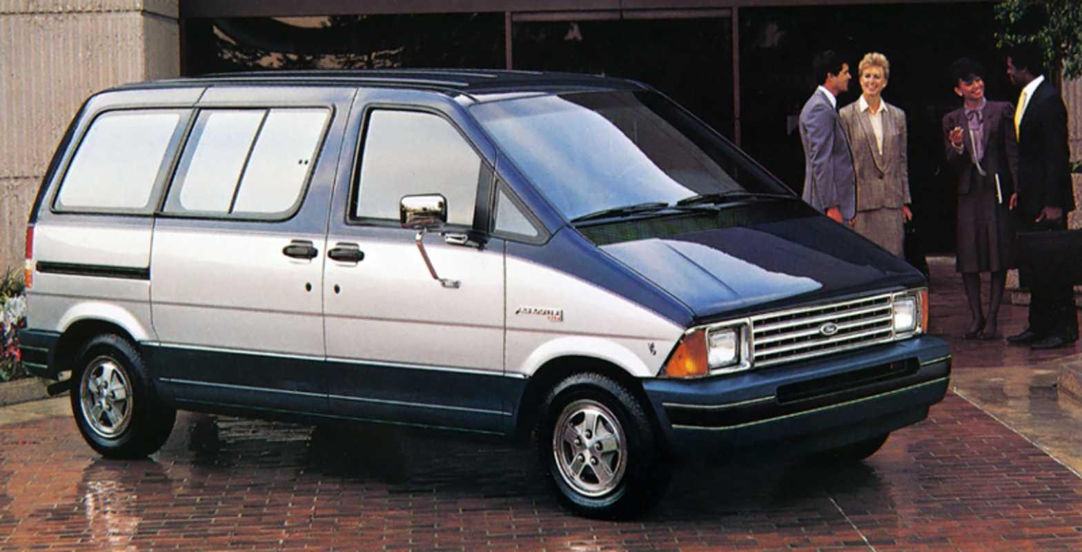 Ford Aerostar: 12 años de innovación total