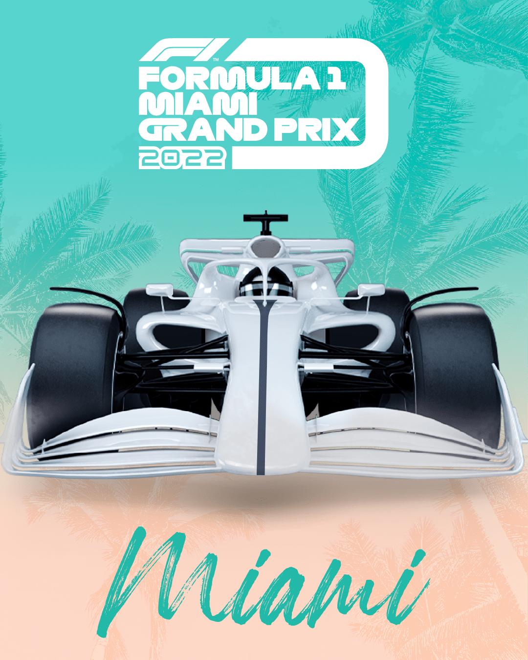 El Gran Premio de Miami se unirá al calendario de la F1 en 2022