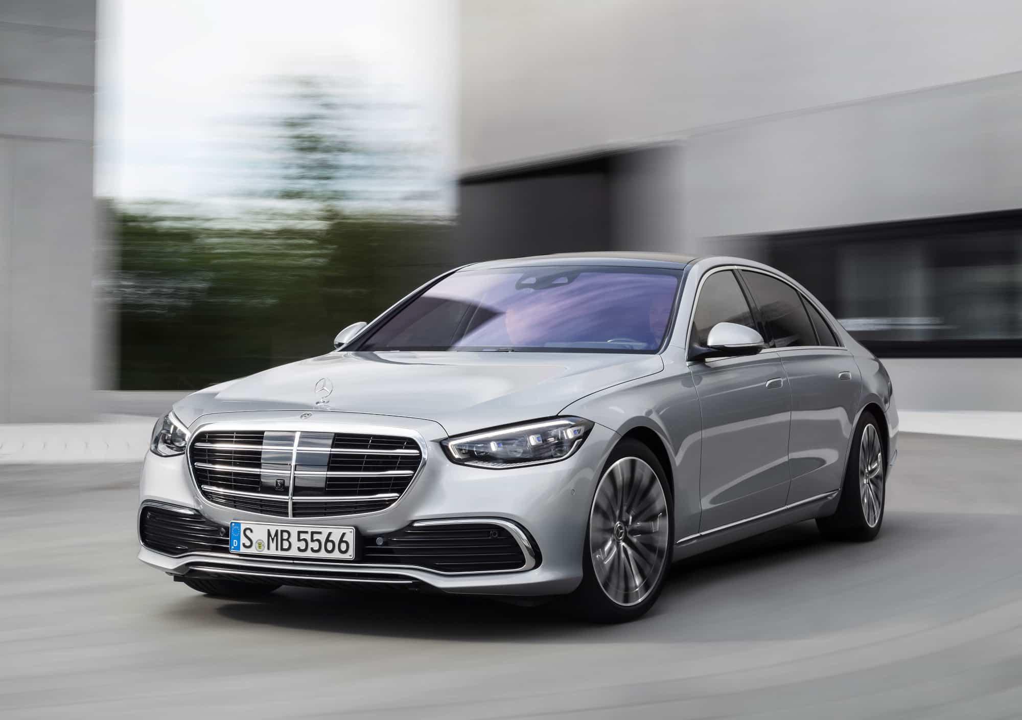 Tecnología en todos los aspectos: Clase S de Mercedes-Benz