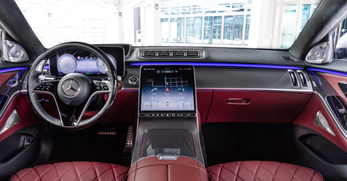 Interior Mercedes-Benz Clase S