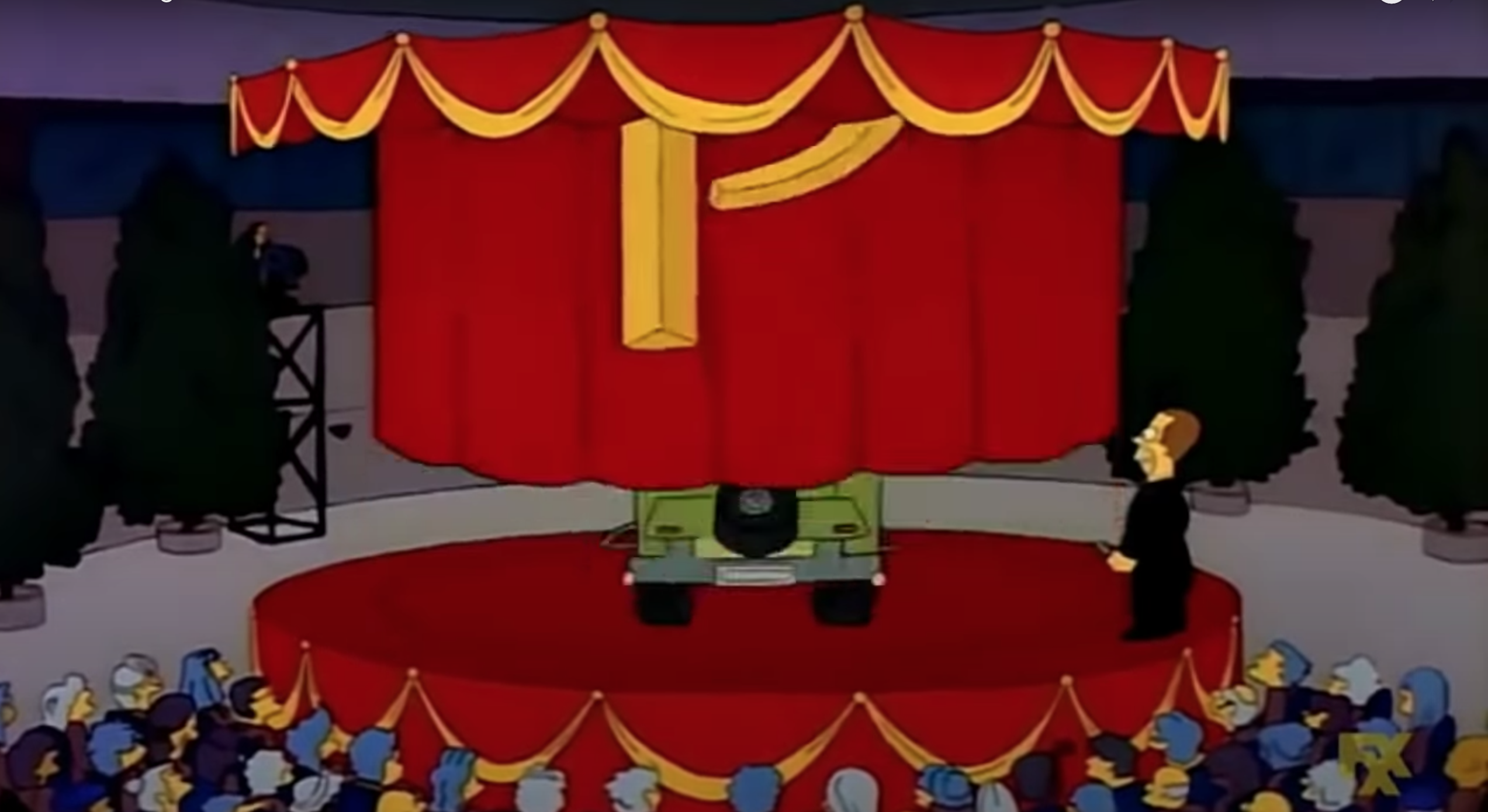 Descubre cómo luce el auto que diseñó Homero Simpson