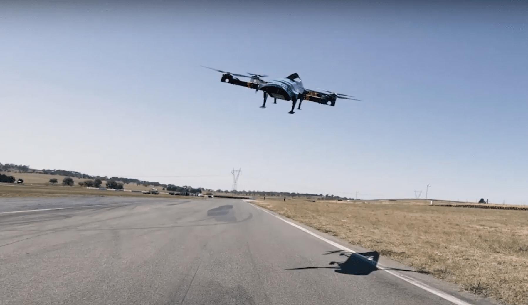 Esta nueva carrera de autos voladores planea ser la F1 del siglo XXI