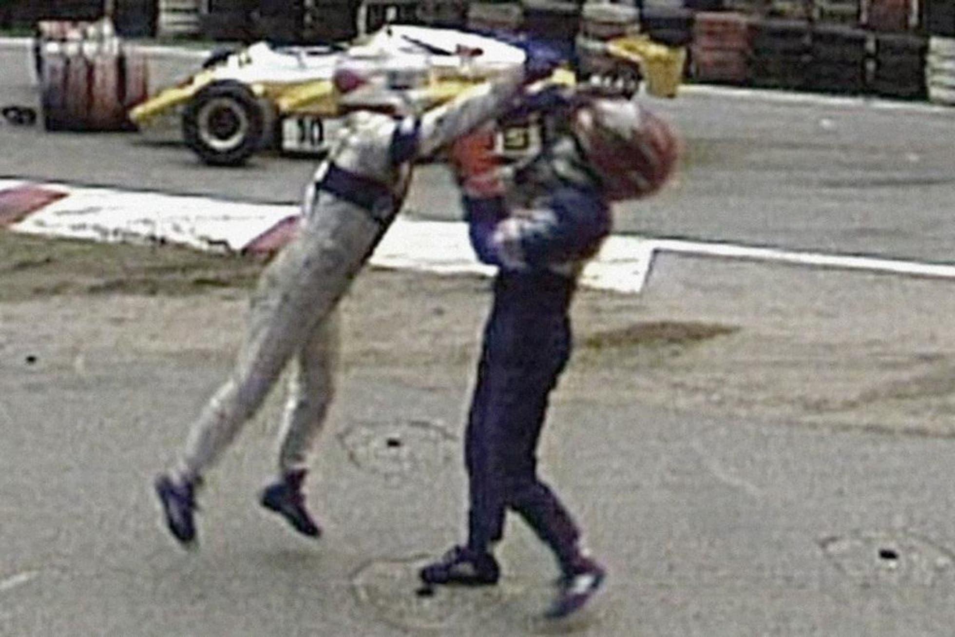 Las peleas más famosas entre los pilotos de Fórmula 1