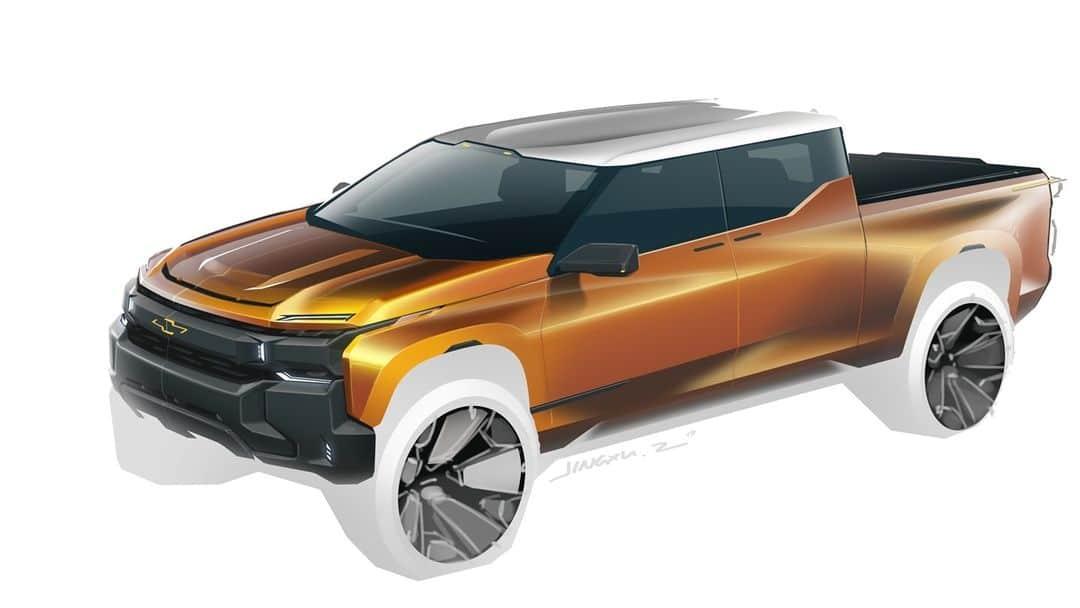 ¿Cómo será la nueva Chevrolet Silverado eléctrica?
