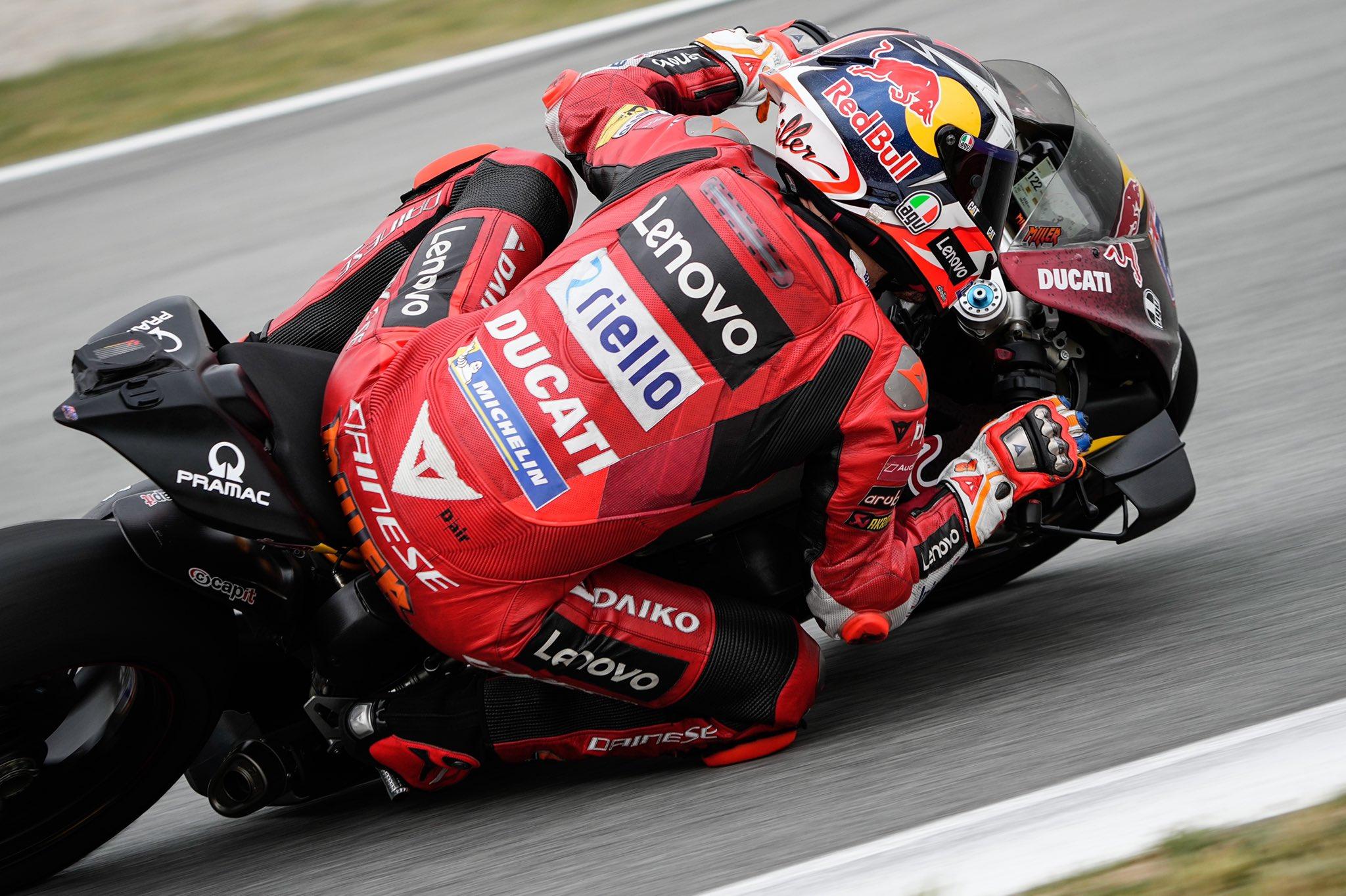 Jack Miller y Ducati continuarán juntos en 2022