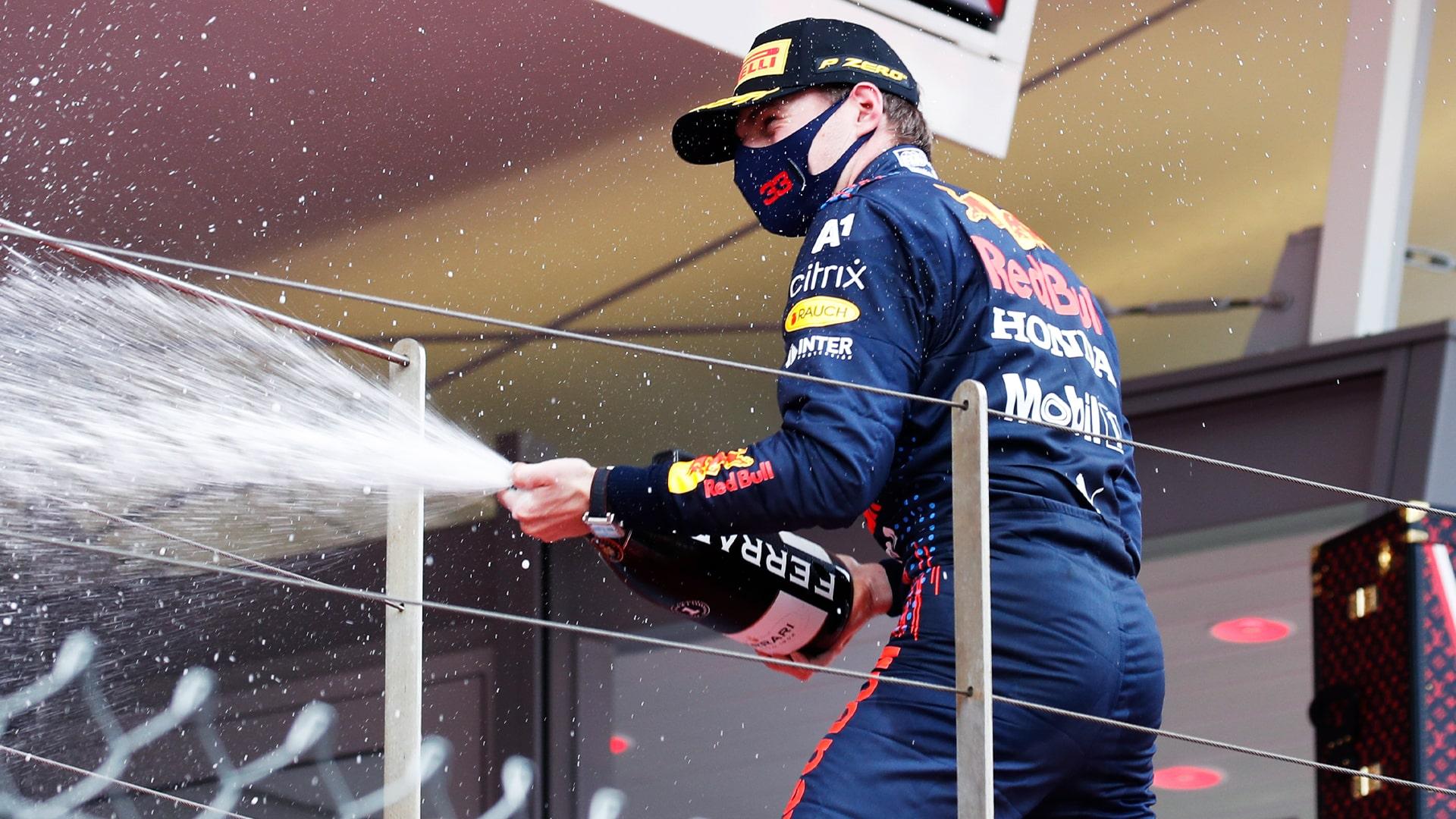 Max Verstappen logra su primera victoria en Mónaco