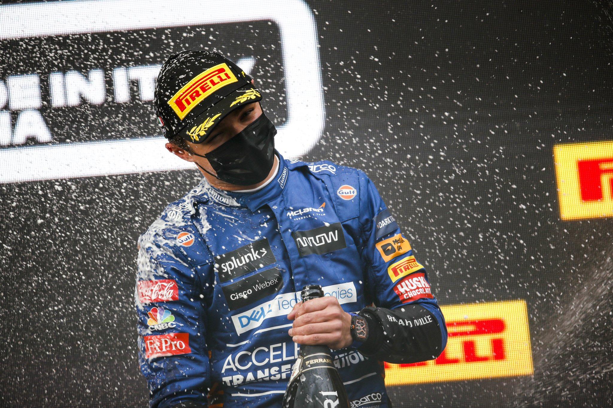 Lando Norris ha firmado un nuevo contrato con McLaren