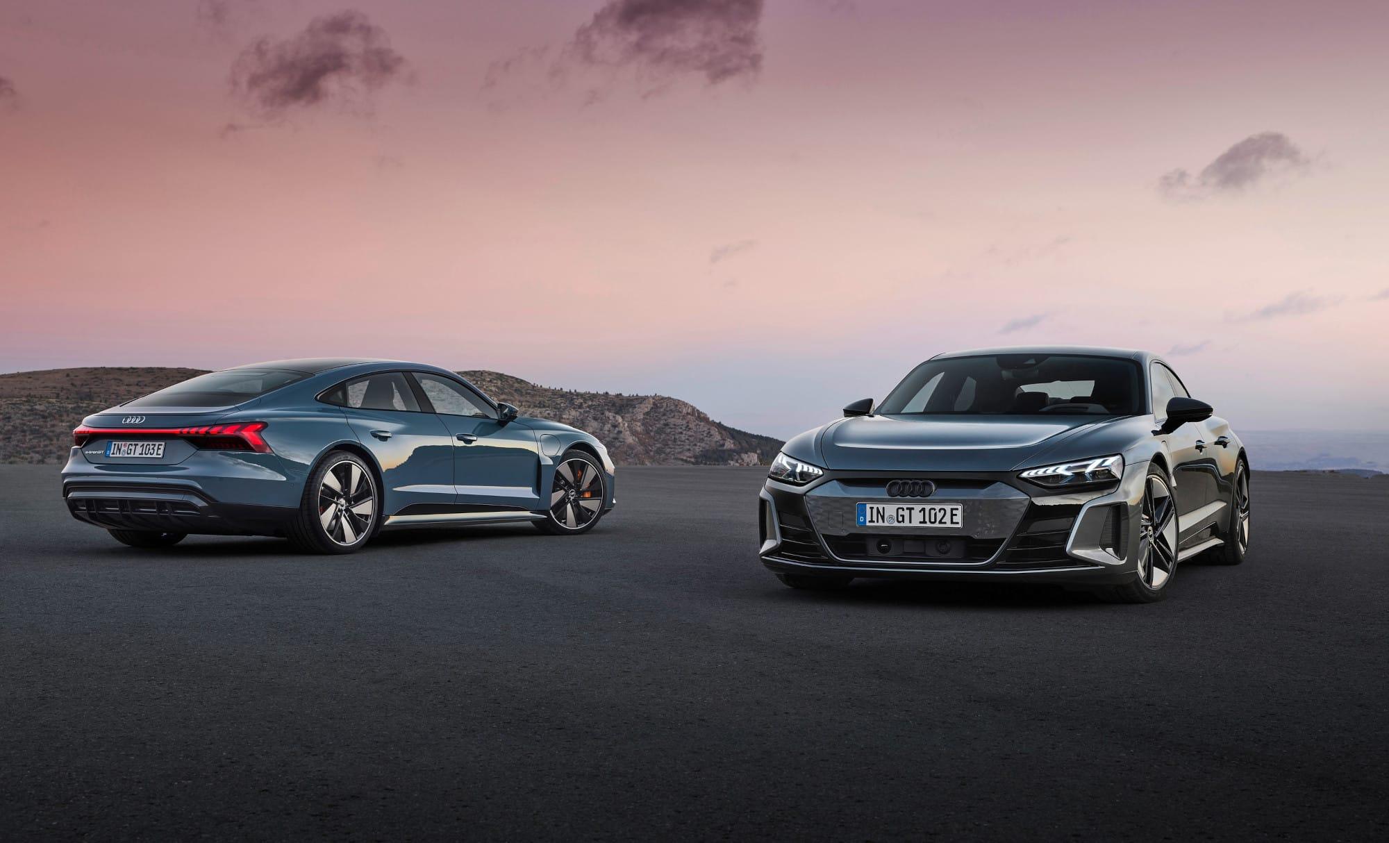 Inicia la venta de Audi e-tron GT