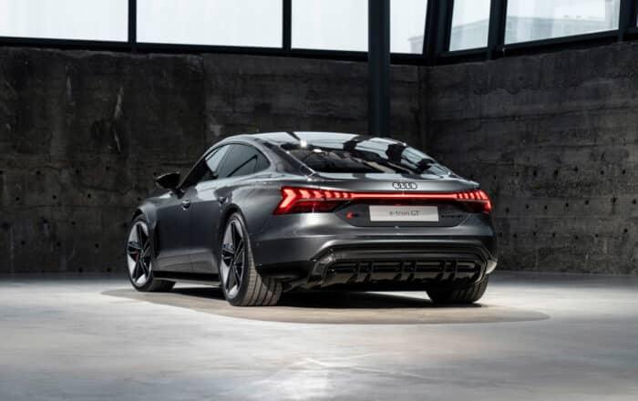 Audi RS e-tron GT Daytona grey