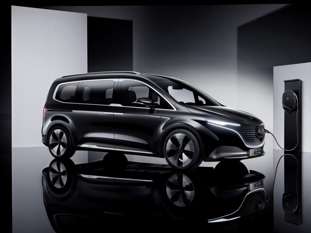 Mercedes-Benz Concept EQT, la van eléctrica para un nuevo segmento