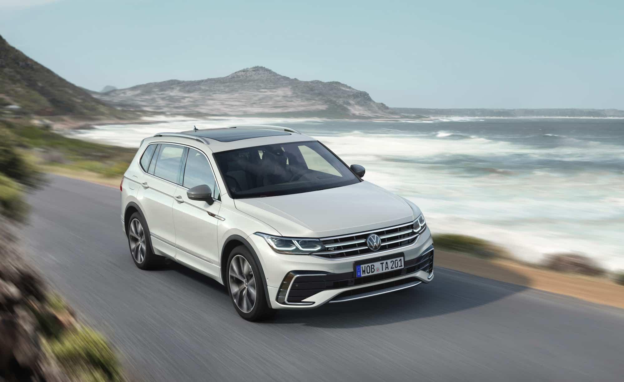Volkswagen presenta el nuevo Tiguan 2022