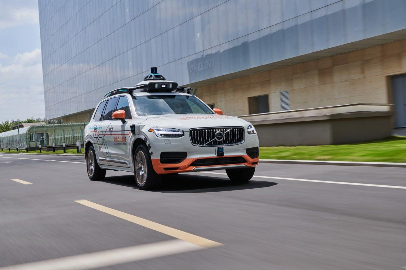 DiDi usará vehículos Volvo en su flota de robotaxis del futuro