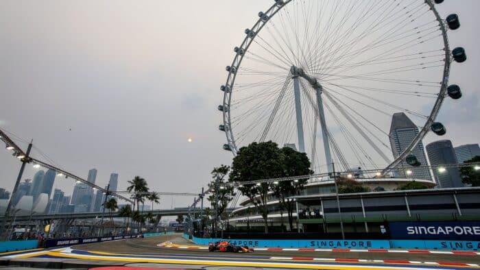 Gran Premio de Singapur de Fórmula 1 cancelado