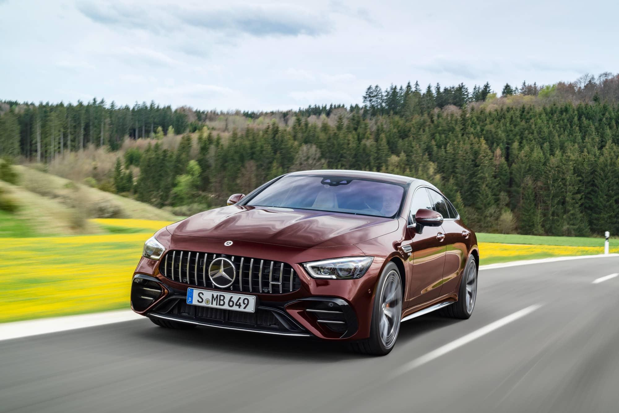 Actualizan al Mercedes-AMG GT Coupé