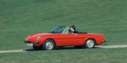 Alfa Romeo Spider: de estudiante a graduado