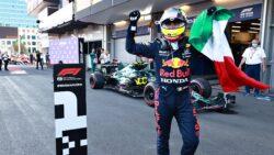 Sergio Pérez consigue la victoria en  Azerbaiyán