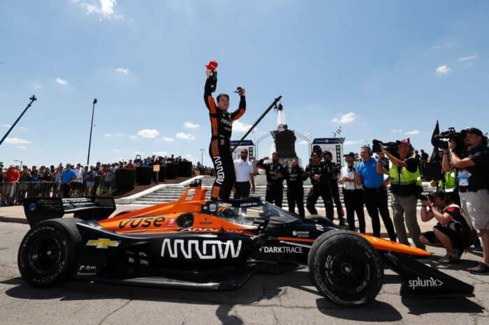 Pato O´Ward es el nuevo líder general en la IndyCar