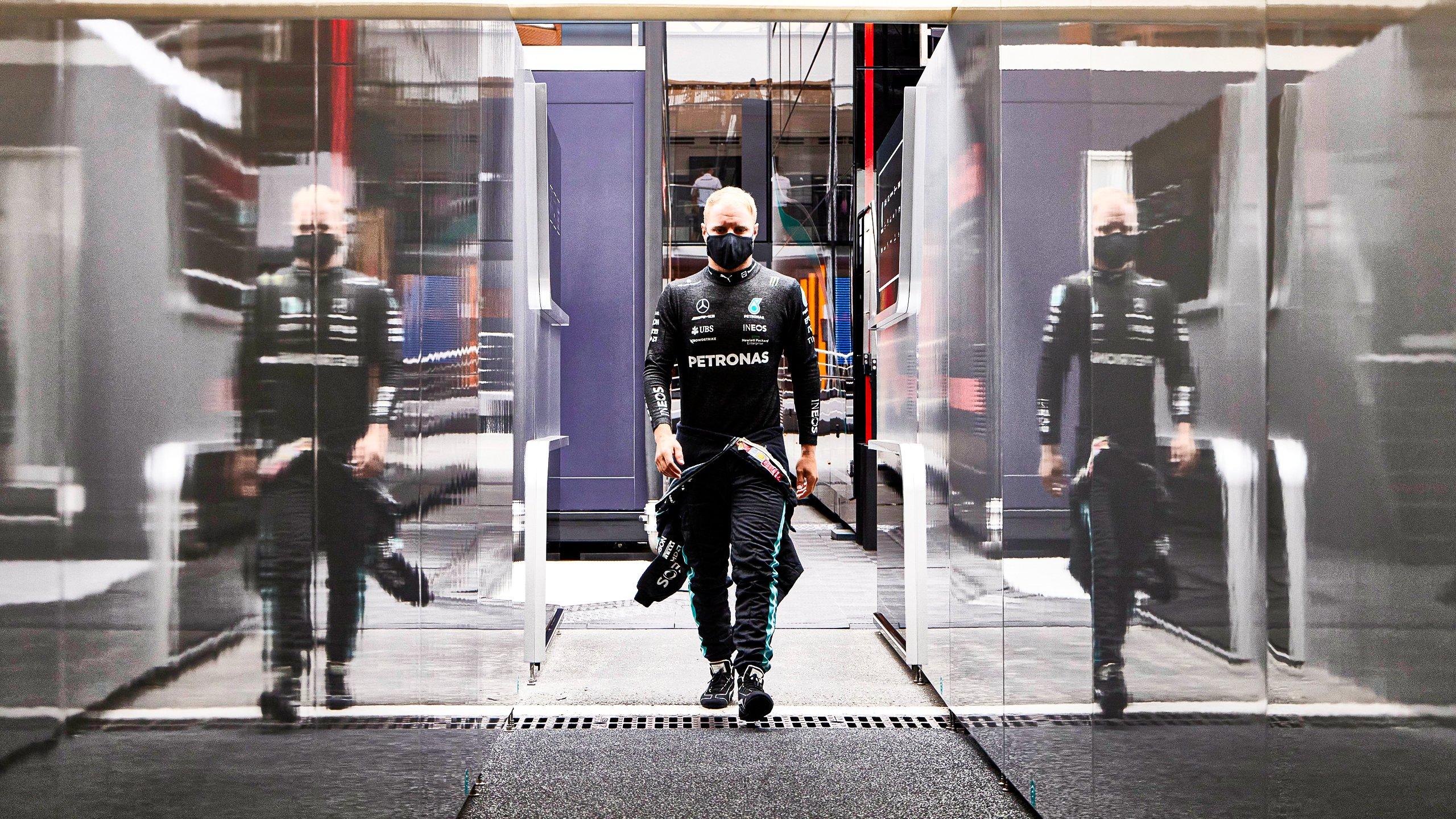 Bottas sancionado por conducción peligrosa en boxes