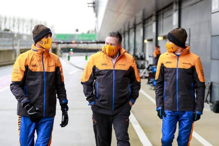Zak Brown correrá en Zandvoort en la serie GT4