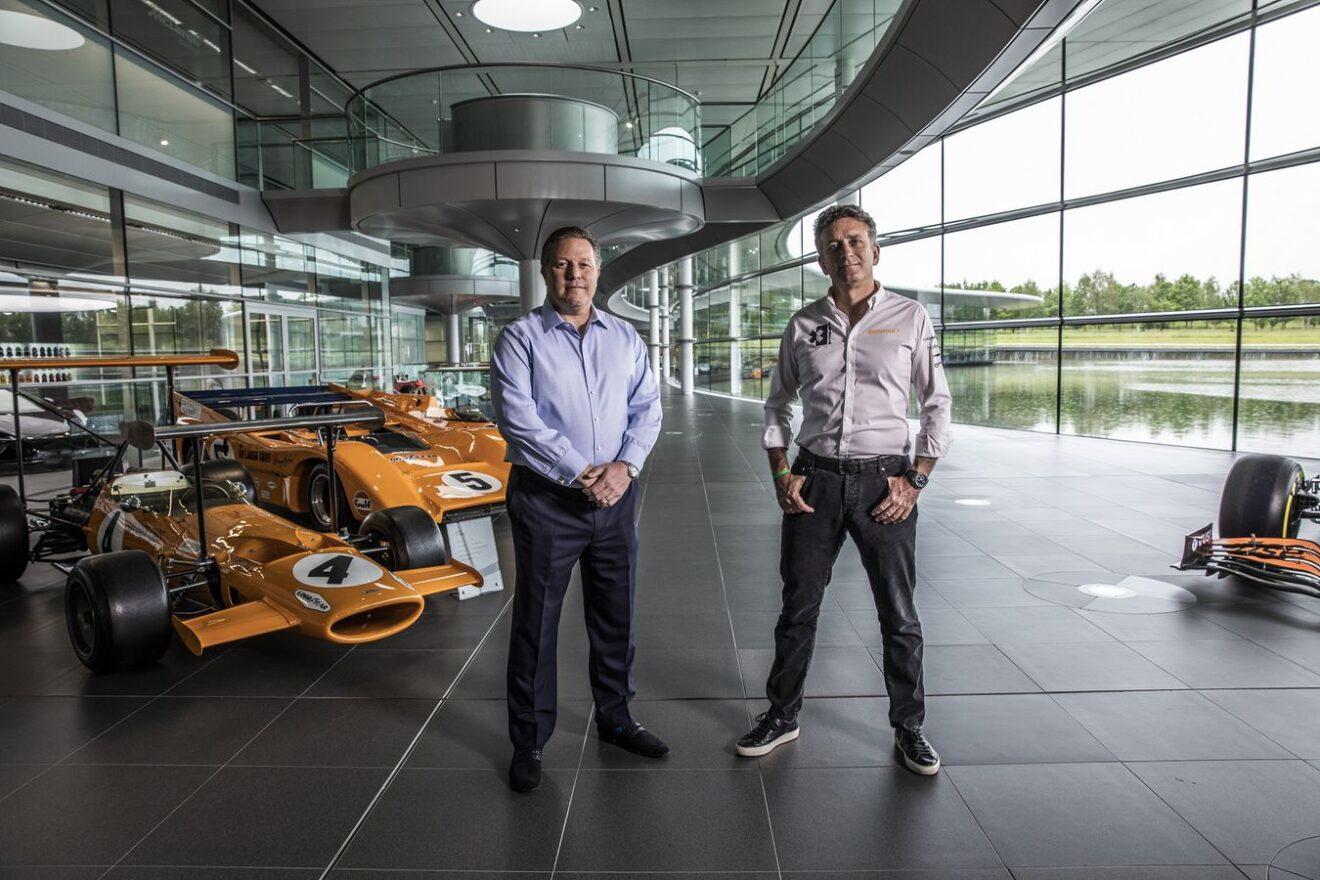 McLaren se unirá al Extreme E en 2022