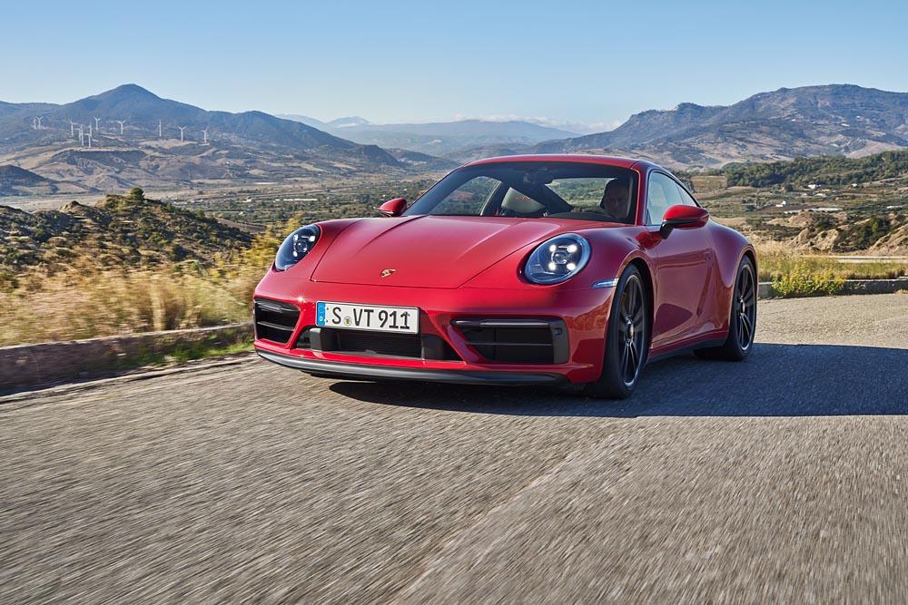 Nuevos Porsche 911 GTS, creados para las pistas