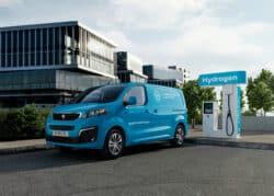 Lanzan utilitario con pila de combustible: Peugeot e-EXPERT Hydrogen