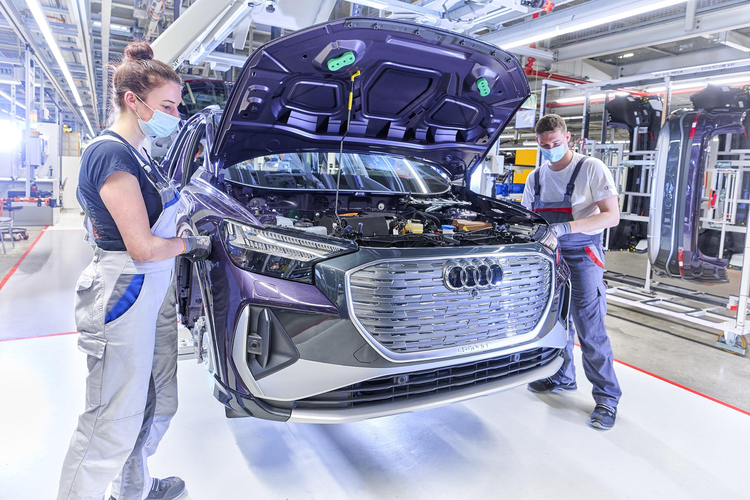 Audi revela cuándo dejará de producir motores de combustión interna