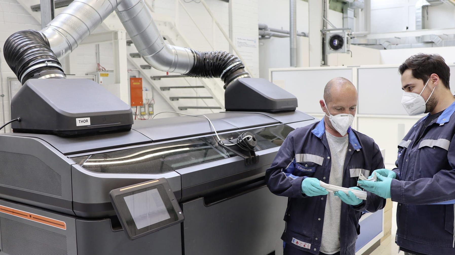 Volkswagen desarrolla nueva técnica de impresión 3D para producción