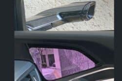 Los espejos retrovisores han sido cambiados por cámaras de visión trasera laterales.