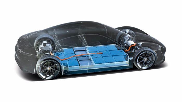 Baterías de Porsche Taycan
