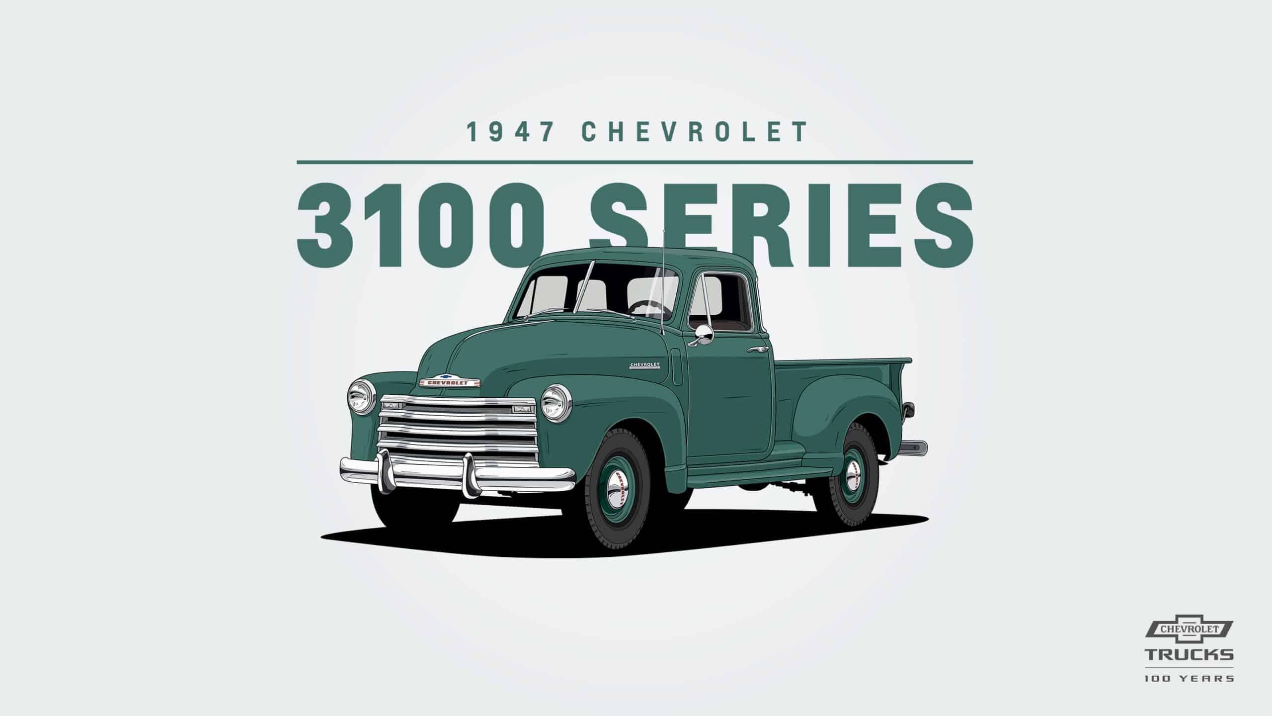 Chevrolet 3100: el estándar para las pickups del futuro