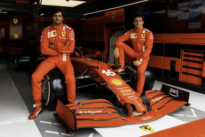 Leclerc ha conducido la primera versión del Ferrari 2022 en un simulador