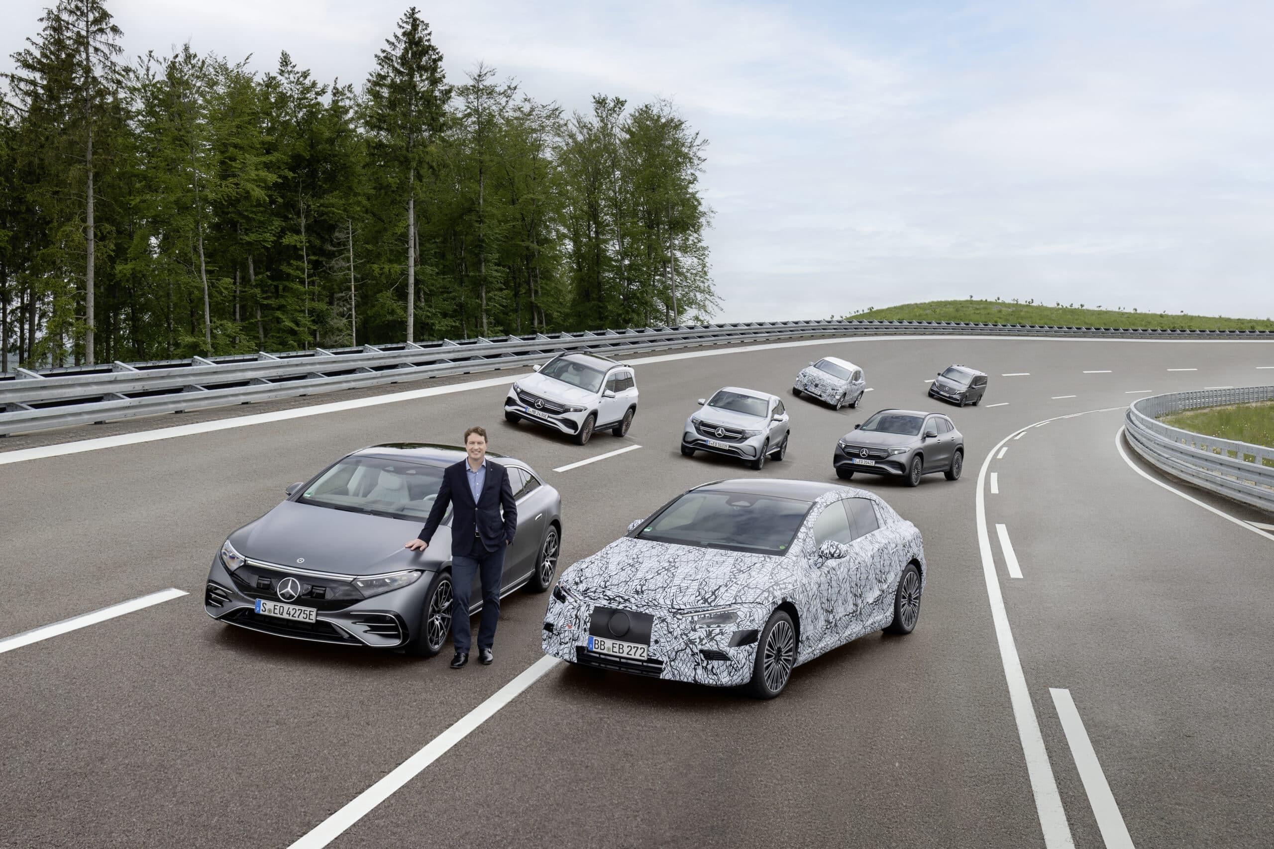 La estrategia eléctrica de Mercedes-Benz es agresiva y muy ambiciosa