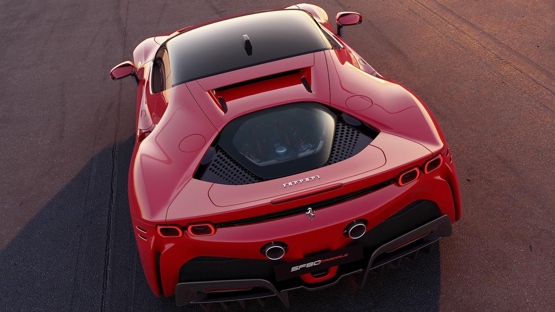 Fabricantes como Ferrari tienden a poner motores centrales