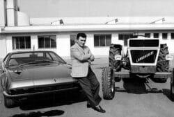 Ferruccio Lamborghini y el incesante deseo de innovar