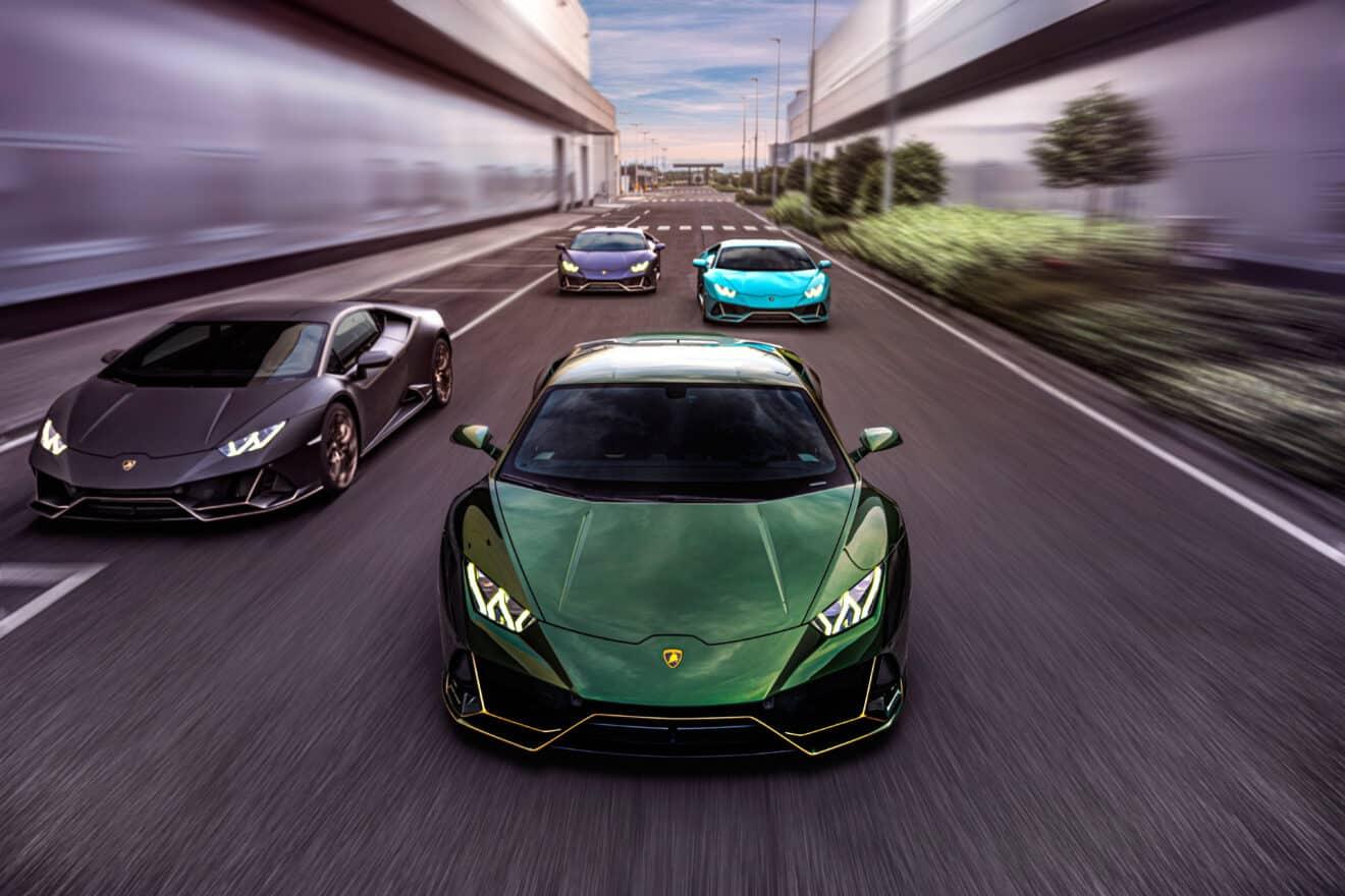Lamborghini celebra 10 años en México con cuatro ediciones especiales del Huracán Evo