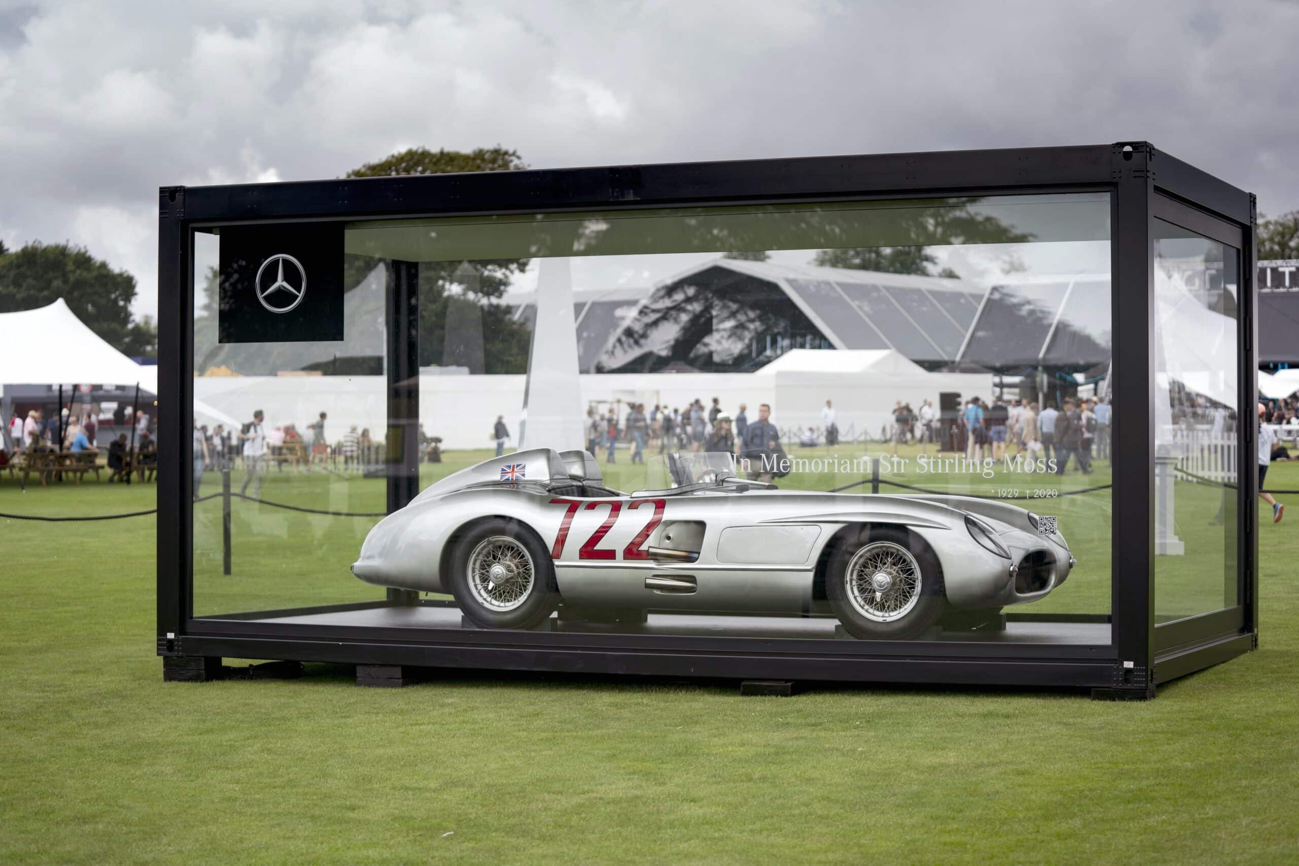 El Mercedes-Benz 300 SLR de Stirling Moss estará presente en Silverstone