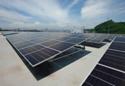 Nuevo sistema solar Mazda en Hiroshima