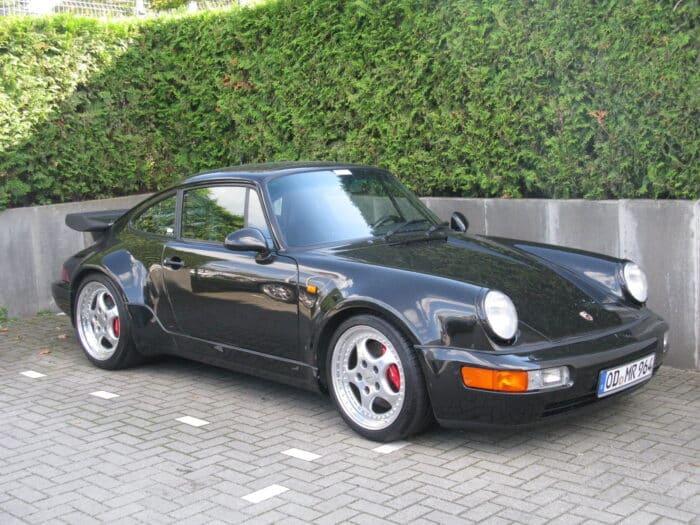 El Porsche 911 en Bad Boys es muy similar a éste