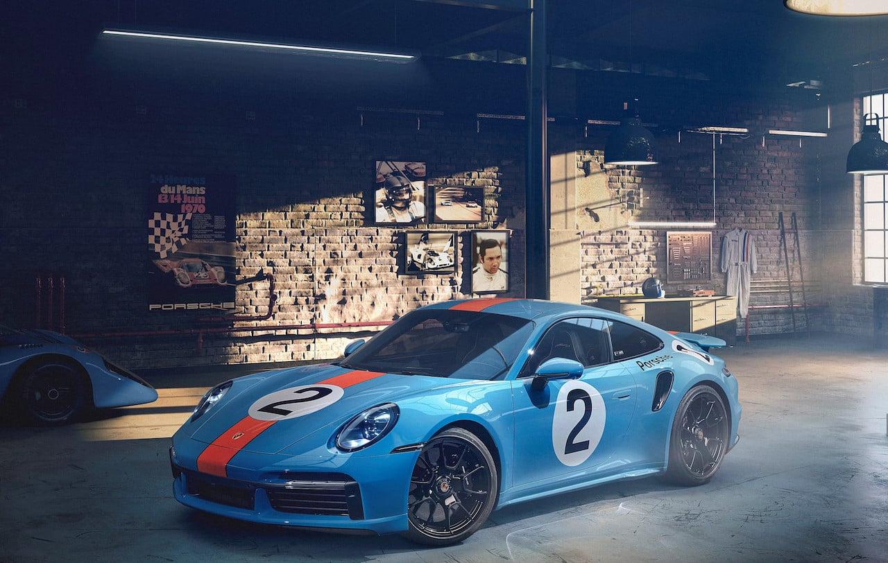 A caridad el Porsche en honor de Pedro Rodríguez