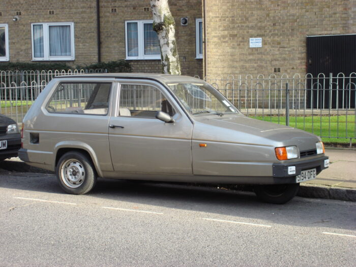 Mk2 Reliant Robin 1989
