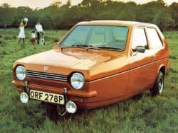 Reliant Robin: un coche destinado al fracaso