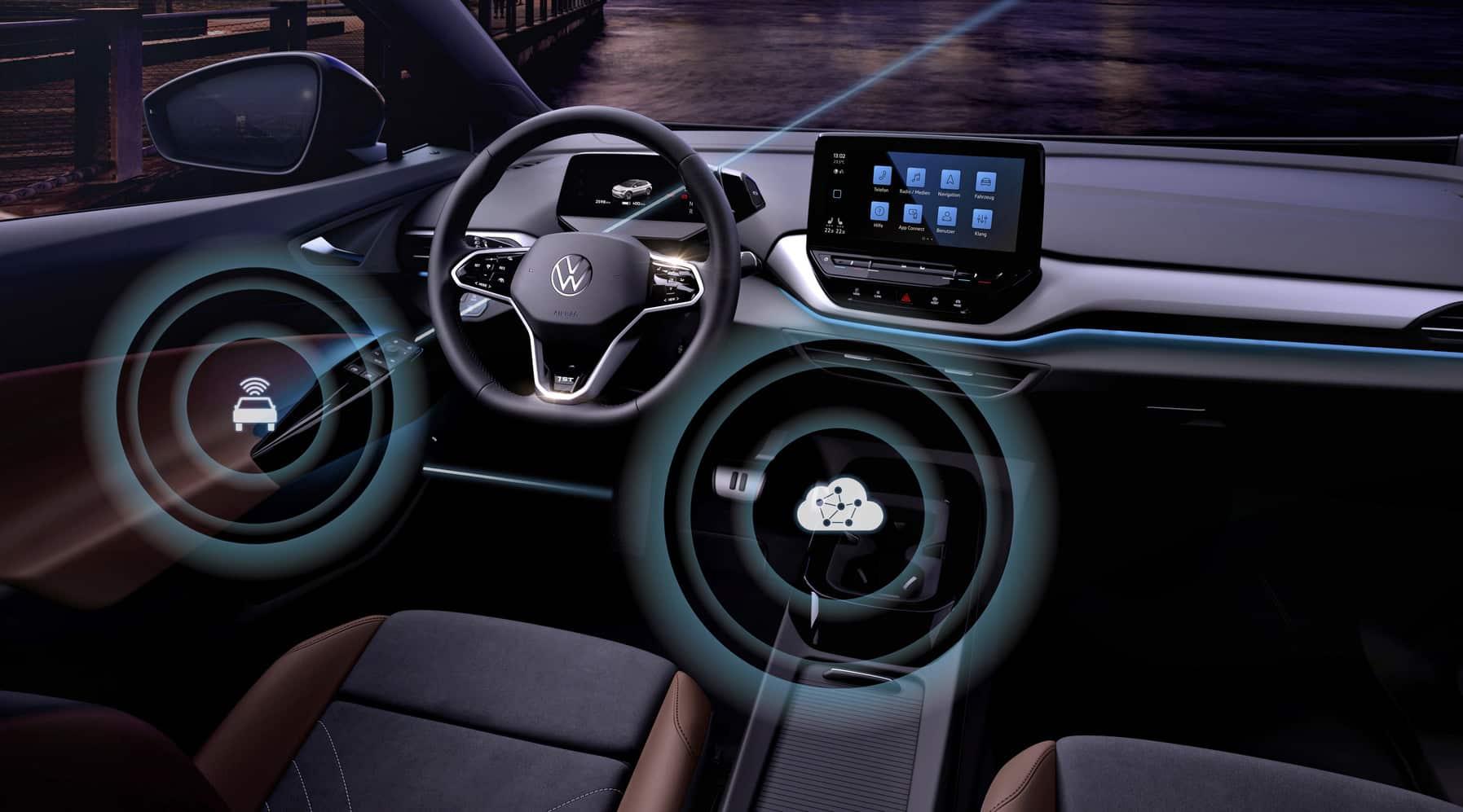 Volkswagen lanza actualizaciones inalámbricas para sus eléctricos