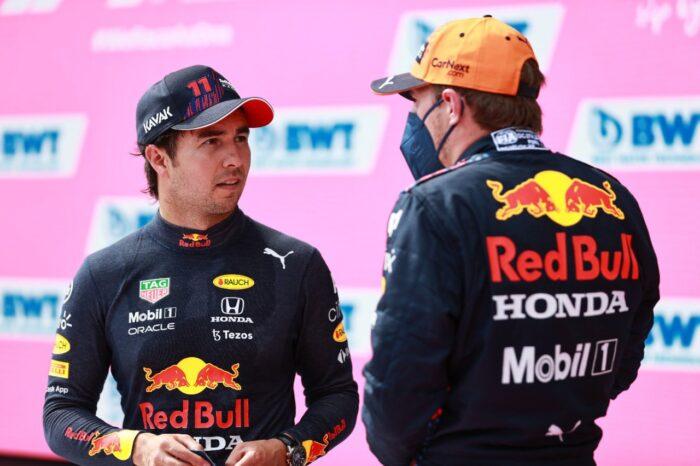 Max Verstappen repite la pole position en Austria, Checo tercero