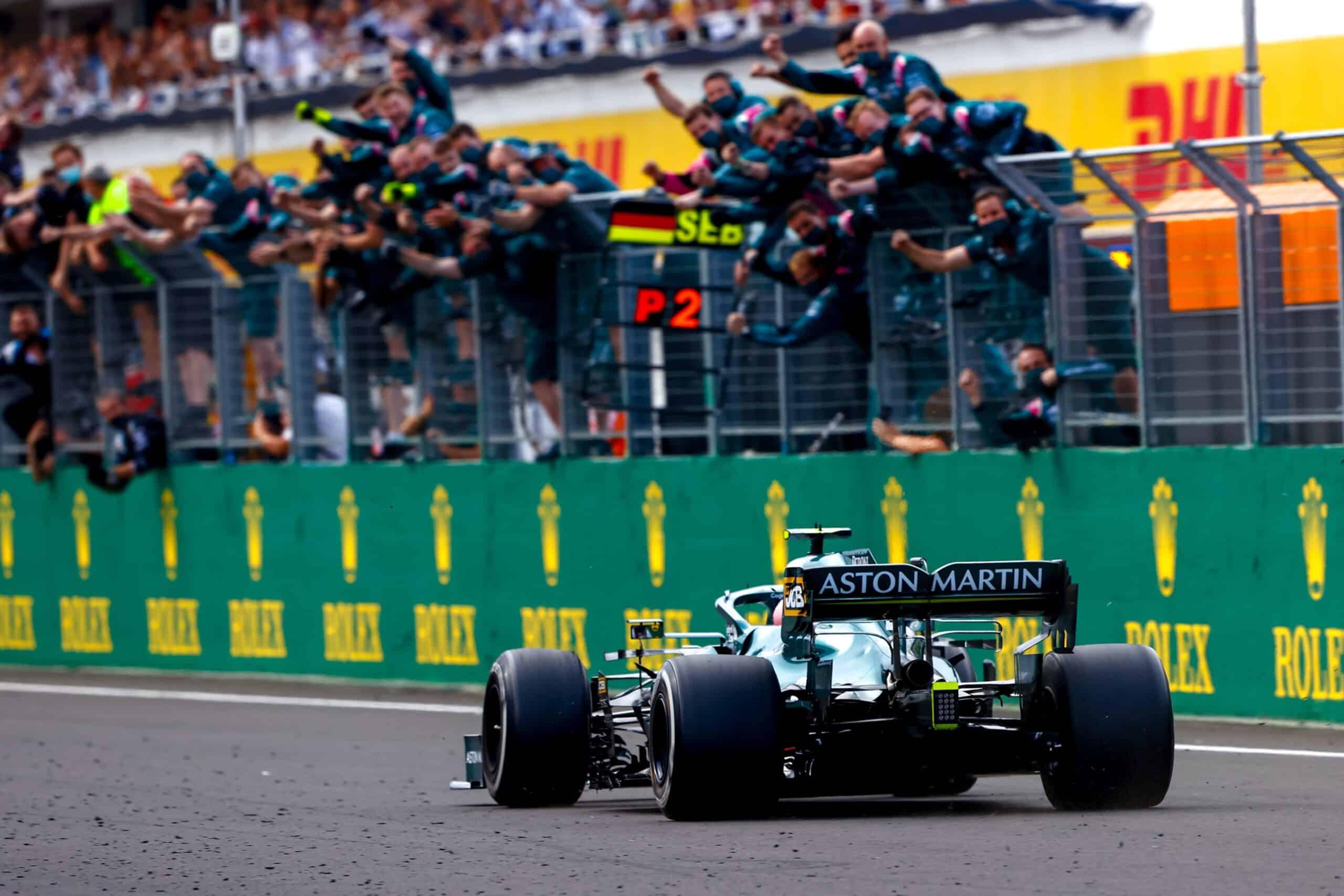 Aston Martin inicia procedimiento de apelación contra la descalificación de Vettel