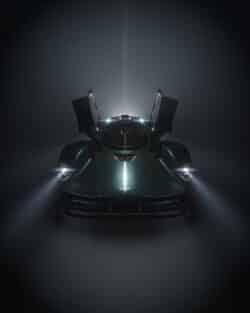Aston Martin Valkyrie Roadster listo para su debut